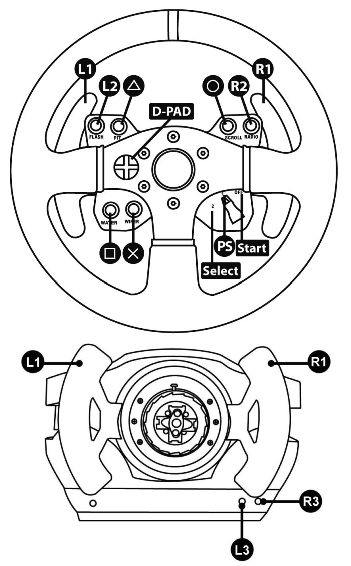 Thrustmaster Technical Support Website The P S Cooler Which I Would Recomend Using Here Is A Better Diagram Ferrari 458 Challenge Wheel Playstation Generic Mapping